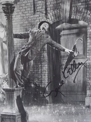 Kelly, Gene - actor/dancer - authentic autograph