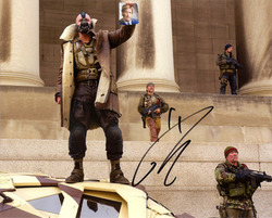 Tom Hardy signed 10x8 photo.