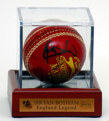 Sir Ian Botham Hand Signed Cricket Ball