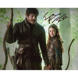 Iwan Rheon AUTOGRAPH Game Of Thrones SIGNED IN PERSON 10x8 photo