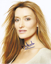 Natasha McElhone signed 10x8 photo.
