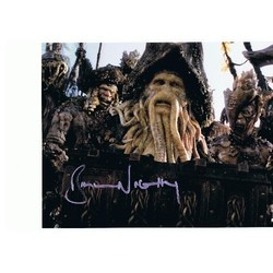 Bill Nighy AUTOGRAPH Pirates of the Caribbean SIGNED IN PERSON 10x8 Photo