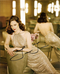 Laura Linney signed 10x8 photo.