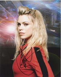 Billie Piper Autograph Doctor Who signed in person 10x8 photo Dr Who