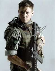 Jeremy Renner signed 10x8 photo.