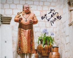 Nicholas Blane SIGNED IN PERSON 10x8 photo GAME OF THRONES