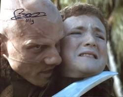 Brenock O'Connor AUTOGRAPH Game Of Thrones SIGNED IN PERSON 10x8 Photo