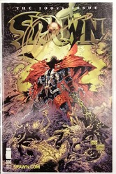 This Image, Spawn #100, signed by Greg Capullo