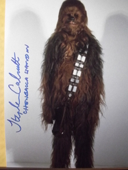 Calcutt, Stephen - Star Wars - authentic autograph - UACC Reg. Dealer #251