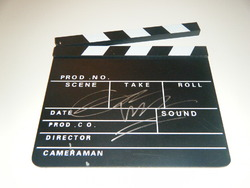 Edgar Wright Signed Clapperboard