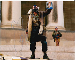 Tom Hardy Signed The Dark Knight Rises 10x8 Photo