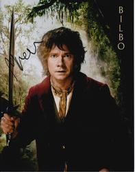 Martin Freeman Autograph The HOBBIT signed in person 10x8 photo