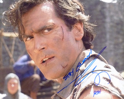 8x10 Bruce Campbell signed photograph
