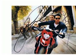 Knight & Day Autographs signed in person by Tom Cruise & Cameron Diaz 10x8 photo