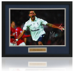 "Clint Dempsey Hand Signed Tottenham Framed 12x8"" Photo"