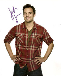 Jake Johnson signed 10x8 photo.