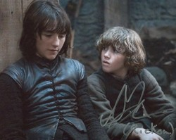 Art Parkinson AUTOGRAPH Game Of Thrones SIGNED IN PERSON 10x8 photo