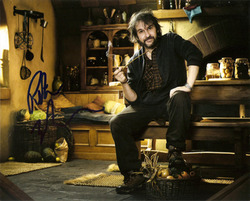 Peter Jackson signed 10x8 photo.