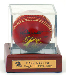 Darren Gough hand signed cricket Ball