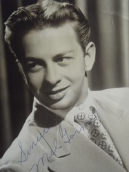 Torme, Mel - authentic autograph