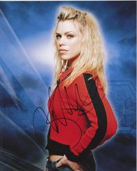 Billie Piper Autograph Doctor Who signed in person 10x8 photo