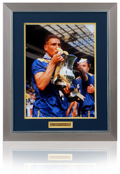 Vinnie Jones Hand Signed 1988 FA Cup Final Photo