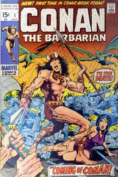 Marvel, Conan The Barbarian #1, signed by Stan Lee