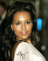 Kerry Washington signed 10x8 photo.
