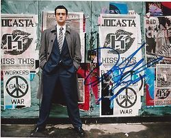 Daniel Mays AUTOGRAPH Ashes To Ashes SIGNED IN PERSON 10x8 photo