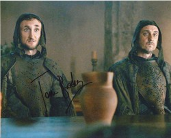 Tom Brooke Autograph Game Of Thrones signed in person 10x8 phot