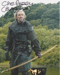 Clive Russell Autograph Game Of Thrones signed in person 10x8 photo