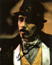 Edward James Olmos signed 10x8 photo.