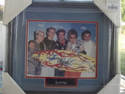 N-Sync - complete band - authentic autographs