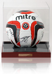Sheffield United 2012/13 Squad Hand Signed Ball Football