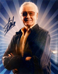 8x10 Stan Lee signed photograph