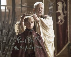 Paul Bentley AUTOGRAPH Game Of Thrones SIGNED IN PERSON 10x8 photo