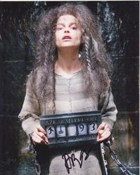 Helena Bonham Carter AUTOGRAPH Harry Potter SIGNED IN PERSON 10x8 photo