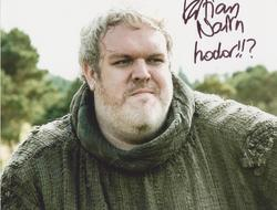 Kristian Nairn Autograph Game Of Thrones signed in person 10x8 photo