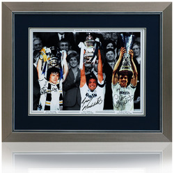 Tottenham FA Cup Winning Captains montage