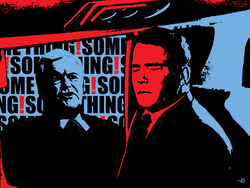 """Gingrich on the Wing"" Poster"