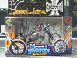 Jesse James signed 1/18 chopper