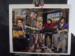 Big Bang Cast (5) - Parsons, Galecki, Helberg, Cuoco, Nayyar - authentic autographs