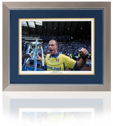 Van Tornhout hand signed Kilmarnock Photo