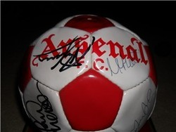 Arsenal Signed Football 1996/97