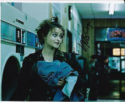 Helena Bonham Carter AUTOGRAPH Fight Club SIGNED IN PERSON 10x8 photo