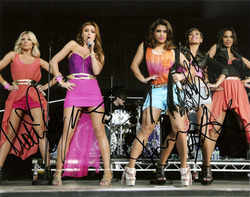 The Saturdays signed 10x8 photo.