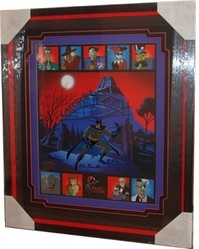 Batman Arkham Asylum Limited Edition Cel