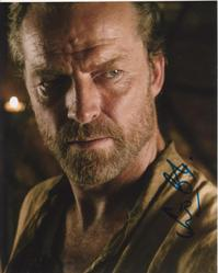 Iain Glen Autograph Game Of Thrones signed in person 10x8 photo