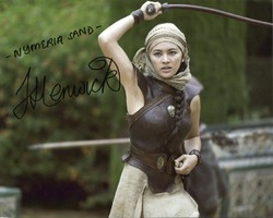 Jessica Henwick AUTOGRAPH Game Of Thrones SIGNED IN PERSON 10x8 Photo