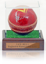 Ian Bell Hand Signed Cricket Ball